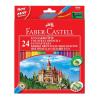 Faber-Castell színes ceruzakészlet 24db-os