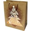 . Ajándéktasak, közepes, 17,8x10x23 cm, karácsonyi
