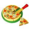 Szeletelhető játék pizza készlet