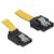 DELOCK Cable SATA 6 Gb/s up/straight metal 30cm (82804)