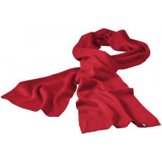 ELEVATE Mark sál, piros (Mark sál, kétrétegű, körkötött anyag, tisztázott szélek. A sál szélein  tűzött címke,)