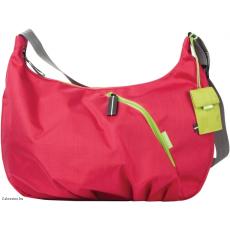 CRUMPLER - Doozie Hobo M deep pink / green lime