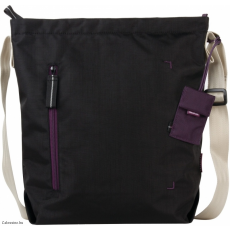 CRUMPLER - Doozie Shoulder M black / deep purple