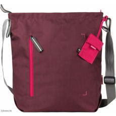 CRUMPLER - Doozie Shoulder M red wine / deep pink
