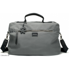 "CRUMPLER - Betty Blue Business 15"" grey canvas"