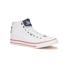 Levi's 22311373350 Menlo Park High Fold Lace Brilliant White cipő
