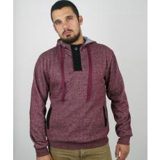 Hoodie férfi pulóver- bordázott