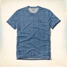 Hollister környakas póló- kék