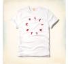 Hollister póló- feliratos férfi póló
