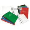 WARTA Folder for personnel documents: Warta  external ring binding spine  red 001695