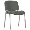 Nowy Styl Conference chair: ISO chrome CU-26  black and grey mbk0360242
