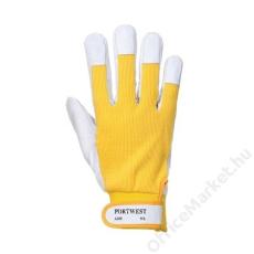 Védőkesztyű, LTergsus, sárga (MED080)