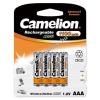 Camelion akku típus HR03, HHR-4EPT Micro AAA 1100mAh 4db/csom.