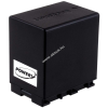Powery Utángyártott akku videokamera JVC GZ-E105BEU 4450mAh (info chip-es)