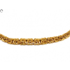 Arany lapított király nyakék