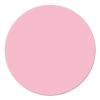 Kör moderációs kártya, 14 cm, pink