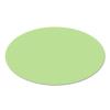 Ovális moderációs kártya, zöld
