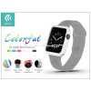 Devia Apple Watch védőtok - Devia Colorful 38 mm - white