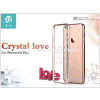 Devia Apple iPhone 6/6S hátlap Swarovski kristály díszitéssel - Devia Crystal Love - champagne gold