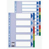 ESSELTE Printable indexes: plastic PP Esselte A4/5 colours 5902812152593