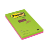 3M-POST-IT Self-adhesive Pad POST-IT® Super Sticky ruled (5845-SSUC)  125x 200mm  4x45 shee 051135813300