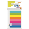 STICK SELF-ADHESIVE INDEX FILING TABS MIX 8 NEON COLOURS – 45x8 MM 4712759214015