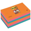 3M-POST-IT 6556SSEG Sticky notes pad: Postit® Super Sticky  sparkling colours  6 pads of 90 0051141968827