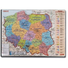 ESSELTE Desk pad with a map of Poland 500 x 650 mm 5701216120517