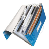 Leitz Project file with 6 expanding compartments: PP Leitz WOW  blue 4002432106004