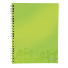 Leitz Notebook: with a folder and \Get organized\ dividers Leitz WOW A4  graph paper   4002432108404