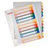 ESSELTE Printable indexes: A4/1-12 plastic  printable Esselte 5411313002141