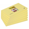 3M-POST-IT Self-adhesive Pad POST-IT® Super Sticky (655-6SSCY-EU)  127x76mm  6x90 sheets  y 051141380780