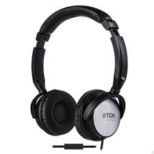 TDK LOR ST170 fejhallgató, fekete fülhallgató, fejhallgató