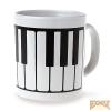 Bögre, zongorabillentyűs mintával