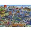 Heye puzzle 1000 db - Seaport, Tanck