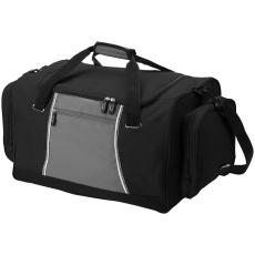 Slazenger BRISBANE Slazenger sporttáska, fekete (Exkluzív kivitelű, nagy BRISBANE sporttáska két oldalsó)