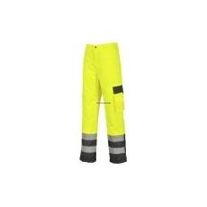 Portwest S686 Hi-Vis jól láthatósági contrast nadrág - bélelt