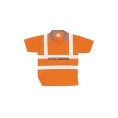 Portwest S171 Cotton Comfort pólóing (narancs)