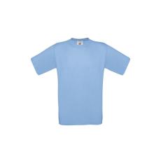 B&C B&C környakas póló, sky blue