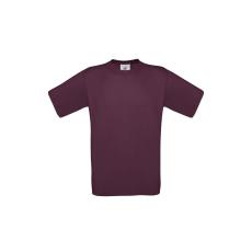 B&C B&C környakas póló, burgundy
