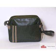 088 Dunlop zöld oldal táska