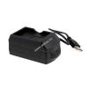 Powery Akkutöltő USB-s Yakumo Delta 400