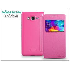 Nillkin Samsung SM-G530 Galaxy Grand Prime oldalra nyíló flipes tok - Nillkin Sparkle - pink tok és táska