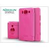 Nillkin Microsoft Lumia 950 oldalra nyíló flipes tok - Nillkin Sparkle - pink