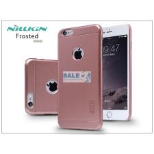 Nillkin Apple iPhone 6 Plus/6S Plus hátlap képernyővédő fóliával - Nillkin Frosted Shield - rose golden tok és táska