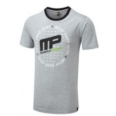 MusclePharm Circular Logo Tee Grey
