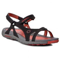 Szandál MERRELL - Lissum Lattice J211045C Black/Coral