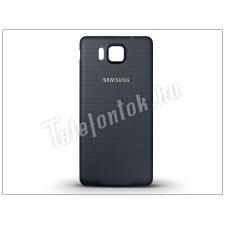 Samsung Samsung SM-G850 Galaxy Alpha gyári akkufedél - fekete tok és táska