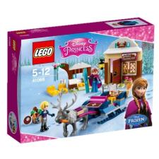 LEGO Disney Princess Anna és Kristoff szánkós kalandja 41066 lego