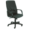 Nowy Styl Swivel chair: MANAGER KD SP-01  leather black mbk0050242
